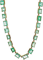 Irene Neuwirth Diamond Collection Women's Colombian Emerald Necklace