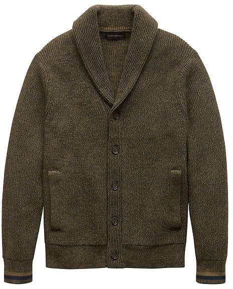 Banana Republic SUPIMA® Cotton Cardigan Sweater
