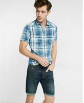 Express eco-friendly slim fit 9 inch denim shorts