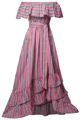 Pink City Prints - Susie Stripe Dress - X Small