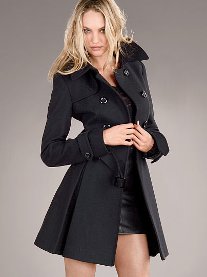 Victoria's Secret The Wool Trench Coat