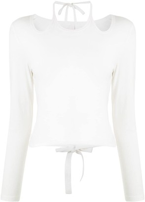 Dion Lee Double Tie Knitted Top