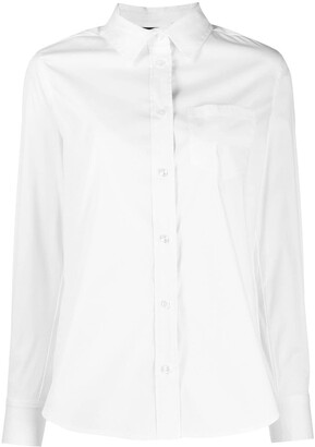 Twin-Set Long-Sleeve Fitted Shirt