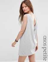 Asos Sleeveless Mini Cowl Back Dress