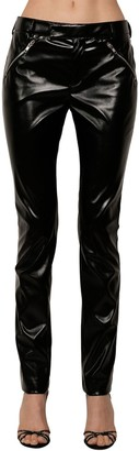 Philosophy di Lorenzo Serafini Straight Leg Faux Leather Pants