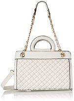 MG Collection Sylvia Quilted Tote Shoulder Bag