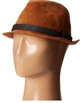 San Diego Hat Company CTH8052 Faux Suede Fedora Hat