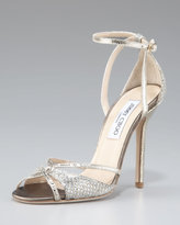 Jimmy Choo Senora Ankle-Strap d'Orsay Sandal