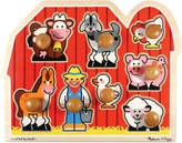 Melissa & Doug Kids Toy, Large Farm Jumbo Knob Puzzle