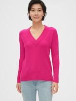 Gap Boucle V-Neck Sweater