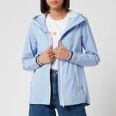 Superdry Women's Long Sleeved Essentials Sleeved Harpa Waterproof Jacket