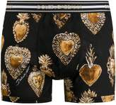 Dolce & Gabbana heart pendant print boxer briefs