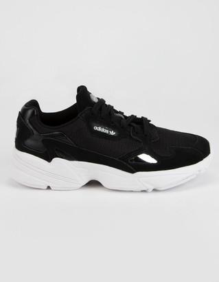 adidas Falcon Black Womens Shoes
