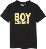 Boy London Logo cotton T-shirt 3-12 years