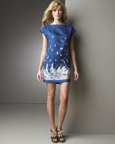 Sail Print Dress
