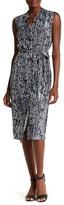 Hobbs Harriete Button Up Shirt Dress