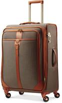 "Hartmann Closeout! Herringbone Luxe 25"" Medium Journey Expandable Spinner Suitcase"
