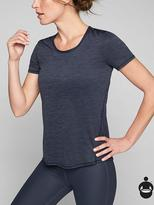 Athleta Shadow Stripe Chi Tee