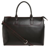 Lodis Audrey Wilhelmina Leather Work Satchel - Black