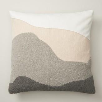 "Indigo Hills Landscape Pillow Cover 18"" X 18"""