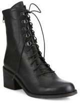 Ld Tuttle The Below Leather Combat Booties