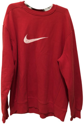 Nike Red Cotton Knitwear