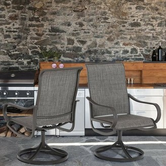 Swivel Patio Dining Chair PHI VILLA