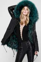 Nicole Benisti Belleville Fur-Lined Parka