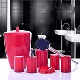 KHSKX Bathroom set simple creative European seven-piece bathroom for washing mug Suite couples wedding gifts