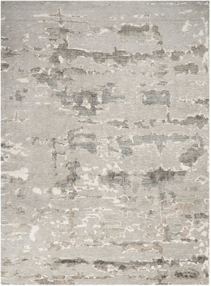 Christopher Guy Aquarelle Natural Truffle Hand-Knotted Rug, 9' x 12'