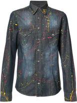 Philipp Plein Odawa denim shirt - men - Cotton/Rhinestone - L