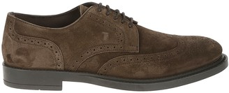 Tod's Bucature Perforated Derby Shoes