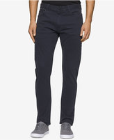Calvin Klein Jeans Men's Slim Straight Sateen Pants