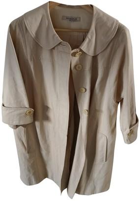 See by Chloe Beige Linen Trench Coat for Women