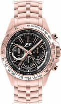 Jacques Lemans SL-Chrono F-5006N 36mm Ion Plated Stainless Steel Case Ion Plated Stainless Steel Mineral Women's Watch