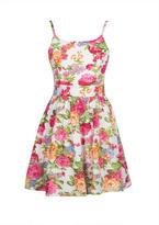 Delia's Zip Back Floral Dress