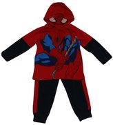 American Character Little Boys Spiderman Fleece 2 Pc Pant Set