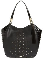 Brahmin Nara Marianna Leather Tote - Black
