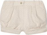Chloé Sparkle tweed cotton shorts 6-36 months