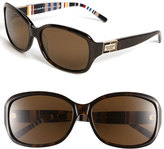 Kate Spade Women's 'Annika/p/s' 56Mm Polarized Oversized Sunglasses - Tortoise/ Brown Polarized