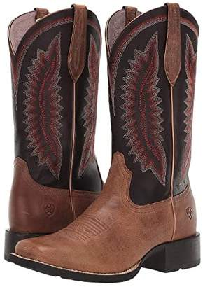Ariat Quickdraw Legacy (Almond Bluff/Shadow Purple) Cowboy Boots
