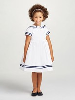Oscar de la Renta Cotton Sailor Dress
