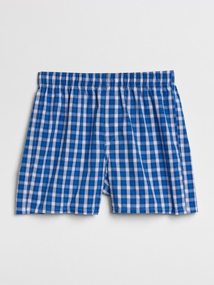 "Gap 4.5"" Box Plaid Boxers"
