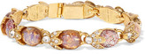 Ben-Amun Gold-Plated, Crystal And Stone Bracelet