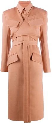 MATÉRIEL Tie-Waist Longline Coat