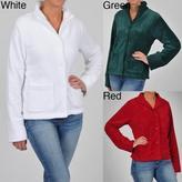 La Cera Women's Plus Size Five-button Jacket