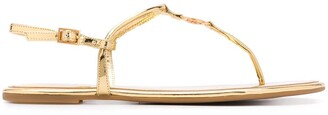 Tory Burch Flat Strap Sandals
