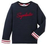 Petit Bateau Boys sweatshirt with design