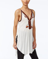 Free People Around The World Embroidered Tunic