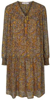 Co' Couture - Rive Boho Dress Yellow - xsmall